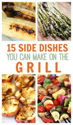 1000 images about recipes grilling on pinterest for Good side dishes for grilled chicken