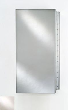 "Afina Corporation SD1530RBRDAT Single Door 15X30 Recessed - Broadway Aluminum Trim by Afina Corporation. $357.00. Rough Wall Opening: 14-3/8 x 29-3/8.. 3 Mirror design (front mirror, behind door and inside back).. Outside Dimensions: 15 x 30.. Cabinet body is satin anodized aluminum 4"" deep.. 3 Glass Shelves.. Outside Dimensions: 15"" x 30"". Rough Wall Opening: 14-3/8"" x 29-3/8"". 3 Glass Shelves. Cabinet body is satin anodized aluminum 4"" deep. 3 Mirror design (fr..."