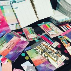 So many great @erincondren planner accessories  at #connecther16 this weekend…
