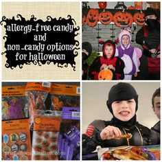 Healthy Kid Snacks: Allergy-free Candy and Non-Candy Options for Halloween