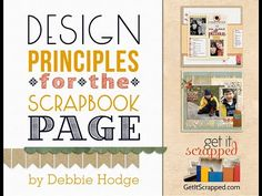 Introduction to Scrapbook Page Design