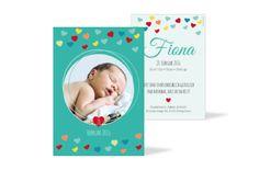 Geburtskarte Fiona