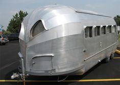 Vintage Airstream. Captain Nemo's Nautilus has nothing on this thing.