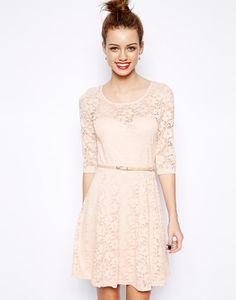 New Look 3/4 Sleeve Lace Skater Dress http://picvpic.com/women-dresses-day-dresses/3819287-new-look-3-4-sleeve-lace-skater-dress?ref=QA8LwA
