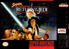 Super Star Wars Return of the Jedi SNES Super Nintendo