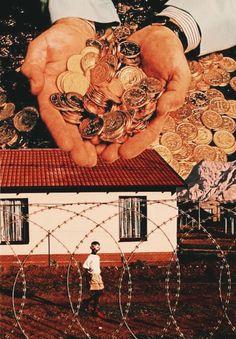 Retrospective Nostalgia Part-3. Surreal Mixed Media Collage Art By Ayham Jabr.