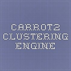 Carrot2 Clustering Engine