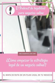 ¿Cómo empezar la estrategia legal de un negocio online? Marca Personal, Community Manager, Plans, Online Marketing, Wall Art, Amazon, Youtube, Design, Maps