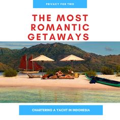 Romantic journey on a luxury traditional wooden yacht just for two of you! Amazing crew, authentic culture, and the adventure of the yachting holiday! Book the best retreat that to celebrate your love! Yacht Vacations, Komodo National Park, New Years Traditions, West Papua, E Day, Domestic Flights, Love Holidays, Romantic Getaways, Most Romantic