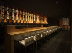 Sushi Bar Design wagamama, meadowhall - focus design. restaurant bar design