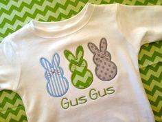 Easter Buny Peeps Children's Shirt Boy Girl by HomeTwedtHome, $18.00