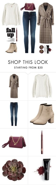 """Fall fashion"" by yexyka ❤ liked on Polyvore featuring Tela Beauty Organics, Frame, Charlotte Tilbury and Inglot"