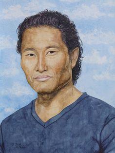 Chin Ho Kelly gespielt von Daniel Dae Kim in der Serie Hawaii 5.0 - Jutta Bachmann