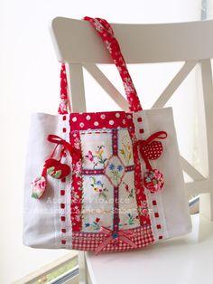 Tasche bolsa para las compras, genial para traer flores y frutas
