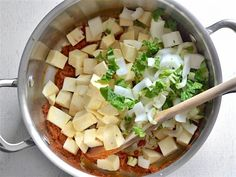 Add Hard Vegetables for Thai Curry Vegetable Soup