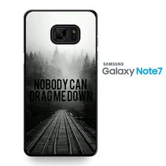 One Direction Lyrics Drag Me Down TATUM-8235 Samsung Phonecase Cover For Samsung Galaxy Note 7