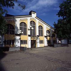 Tram museum. Ratikkamuseo sijaitsee Töölön raitiovaunuhalleissa. | Helsinki, Finland.