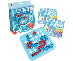 City Maze and over 7,500 other quality toys at Fat Brain Toys. Take your gps puzzle game on the road for hours of directional fun. Creating roads from start to finish, City Maze will challenge your inner compass and bring hours of cranium concentration.