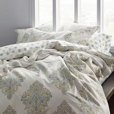 Linden Paisley 300-Thread Count Organic Bedding