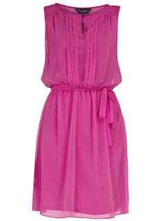 Dorothy Perkins  Magenta button front dress