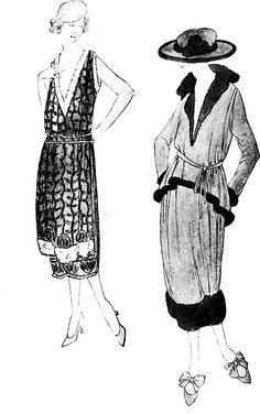 1919 Chanel Fashion Illustration