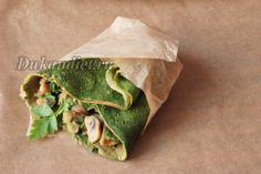 Spinach pancakes | Diet Ducane