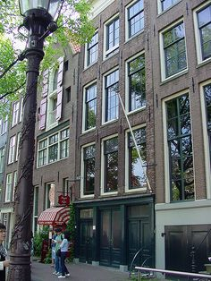 A place I definitely want to visit someday, Anne Frank House Museum, Amsterdam mainly because of TFIOS (;