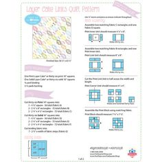 Looking for free quilt patterns and tutorials for beginners to inspire you and help you get started? Choose from hundreds of different free patterns from Fat Quarter Shop. Browse our most recent patterns today! Charm Pack Quilt Patterns, Layer Cake Quilt Patterns, Layer Cake Quilts, Quilt Block Patterns, Quilt Blocks, Blanket Patterns, Layer Cakes, Pdf Patterns, Jellyroll Quilts