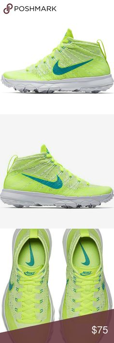 Nike flyknit chukka spikeless golf shoes Brand new Nike Shoes Athletic Shoes afc3dd23042