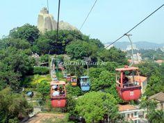 The Cable Car in Xiamen Gulangyu Island - Xiamen Gulangyu Island ...
