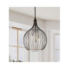 Crystal-Pendant-Chandelier-Elegant-Rustic-Kitchen-Dining-Island-Table-Down-Light