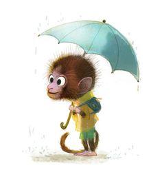 Webke Rauers rainy day