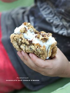 GASP!  These Cookie S'mores are killing me!! Cookie S'mores and Canyon Cookout 2.0 | foodiecrush