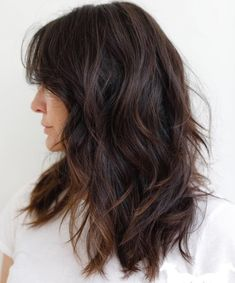 Longer Layered Haircut For Thick Hair