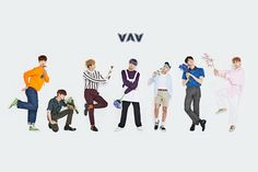 Flower Group Image #VAV Single will release on May 3rd. This marks the first comeback with new members, after the reintroduction of the group following Gyeoul's departure and Xiao's hiatus.