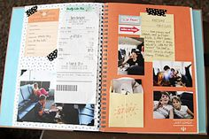 SMASH Books: The Un-scrapbook. A quick and easy way to document your memories! Saw this on Leah's page= WOW!