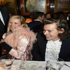 Harry Styles Wears Ruffled Shirt