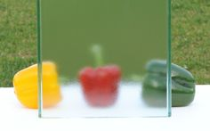 Pilkington Profilit™ Micro - profiled texture glass with extremely fine granular, irregular surface structure (similar to standard 504 ornament). Glass Texture, Natural Light, Facade, Ornament, Surface, Range, Colours, Decoration, Cookers