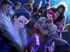 Hunter X Genei Ryodan Phantom Troupe Wallpaper