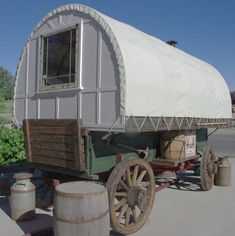 the sheepherder's wagon...