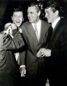 Cary Grant with Dean Martin and Jerry Lewis