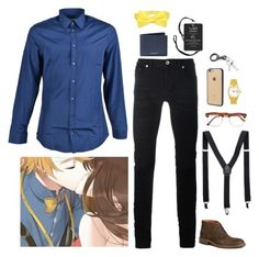 """Mystic Messenger: Yoosung"" by abbysm17es ❤ liked on Polyvore featuring Gucci, Diesel Black Gold, Napoli, Rolex, Michael Kors, Trask, Incase, Topman, men's fashion and menswear"