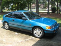 My New Ride!!! 1991 CRX Si. It may be only 21 years old, but it gets better gas mileage than the newest hybrids do.