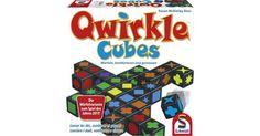 Eine ganz neue Art, QWIRKLE zu spielen. QWIRKLE CUBES kombiniert die bekannte QWIRKLE-Taktik mit spannendem Würfelglück und bringt tolle neue Möglichkeiten ins Spiel. Denn zu Beginn des Zugs darf jeder Spieler seinem Glück auf die Sprünge helfen, ind...