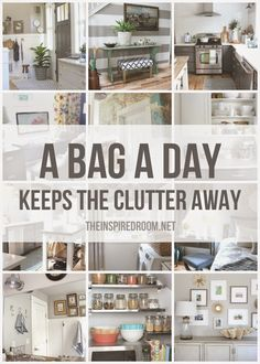 The Secret to Getting Organized: Declutter!