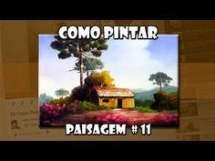 Como Pintar : Paisagem #10 (Passo a Passo) - YouTube