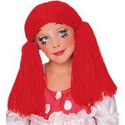 Girl Ragdoll Wig / Raggedy Ann Wig