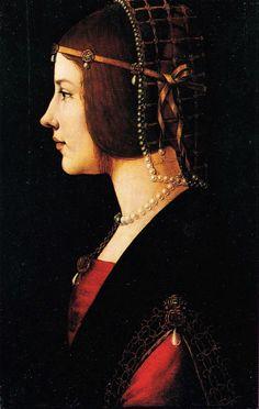 De Predis Giovanni Ambrogio Ritratto di dama, c. 1490-1495