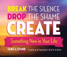 When ONE person breaks their silence, it gives thousands of other permission to do the same. If you or anyone you know has experienced domestic violence, sexual assault or rape at any point in life, please join us for a new conversation happening at the #takeastandevent. It's an online interview series like you've never experienced. #domesticviolence #domesticviolenceawareness #domesticviolencesurvivors #sexualassault #rape #NCADV #NRCDV #NNEDV #1billionrising