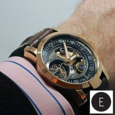 "The ARMIN STROM Tourbillon Gravity Fire is a seriously hot watch. Angus Davies recently got ""hands-on"" with this stunning timepiece. Read his review on ESCAPEMENT.  http://www.escapement.uk.com/articles/armin-strom-tourbillon-gravity-fire.html"